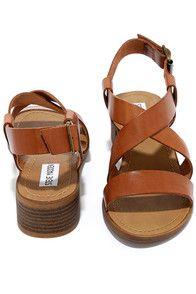 e041737a128 Steve Madden Lorelle - Brown Sandals - High Heel Sandals -  79.00 Brown  Sandals