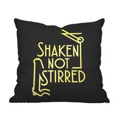 Well-Mixed Throw Pillow