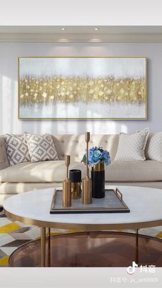 Abstract Painting Techniques, Abstract Canvas Art, Diy Canvas Art, Diy Wall Art, Art Techniques, Diy Art, Gold Leaf Art, Mural Art, Living Room Art