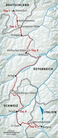 Alpenüberquerung: Wir sind dann mal rüber - [GEO]