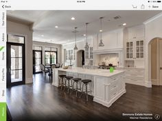 Love the floors!!!  Also love the windows, door, island, cabinets, and light fixtures!!