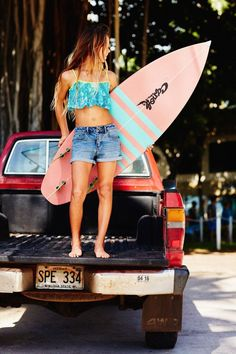 Aloha Surfer Girls - Surf Lessons in San Diego for females! alohasurfergirls.com #surfinginspiration