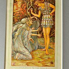 Original Antique Print 1892 Walter Crane от FeltersCottage на Etsy, £20.00