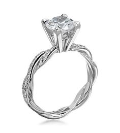 Michael C. Fina - Infinity Platinum Diamond Setting