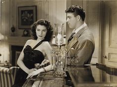 Ava Gardner and Burt Lancaster in The Killers directed by Robert Siodmak, 1946