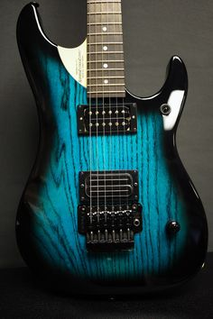 Custom Blue To Black Burst Nuno Bettencourt N4