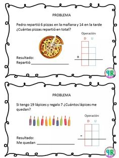 material para docentes   Profe Yano   Página 15 2nd Grade Math, Math Class, Worksheets For Kids, Kindergarten Worksheets, Tens And Ones, Maila, Speech Language Therapy, Math For Kids, Home Schooling