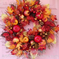 Pretty Fall Wreath.