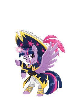 MLP Movie Vector Pirate Twilight Sparkle
