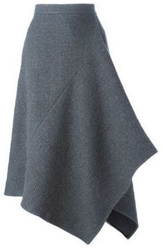 Shop stella mccartney asymmetric skirt in maria store dubrovnik croatia Skirt Pants, Dress Skirt, Moda Chic, Asymmetrical Skirt, Mode Inspiration, Stella Mccartney, Fashion Dresses, My Style, Casual
