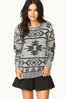 #Sweater #Aztec