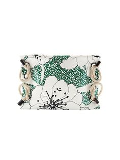 For today's product pick, we're loving the Marni Oversized Rope Detail Floral Clutch!
