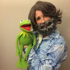 Jim Henson DIY Halloween costume
