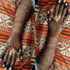Kashee's Mehndi Designs, Mehndi Design Pictures, Kashees Mehndi, Bridal Mehndi, Henna Tattoo Hand, Hand Tattoos, K Ring, Islamic Art Calligraphy, Embroidery Designs