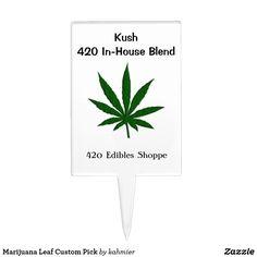 Marijuana Leaf Custo