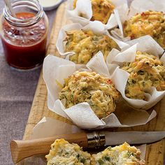 Taste Mag | Spinach and cheese muffins @ http://taste.co.za/recipes/spinach-and-cheese-muffins/