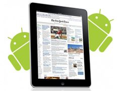Ομολογουμένος το tablet iPad έφερε στην Apple την πρώτη θέση στη αγορά. Ωστόσο, οι ταμπλέτες με λογισμικό Android