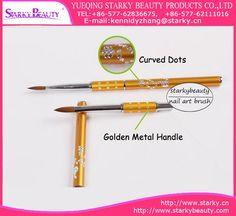 Acrylic Nail Art Brush With Pattern Design,Size NO:2#,4#,6#,8#,10#,12#;