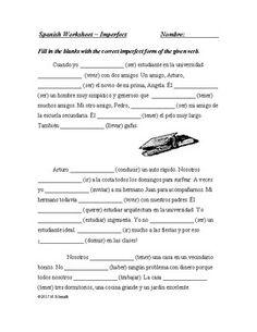 Imperfect and Preterite Spanish Bundle - Imperfecto y pretérito ...