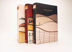 Book Cover Series / 19th cent. Author Biographies on Behance