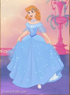 Cinderella in her new and beautiful ballgown dress from Fairytale Princess dress up game Princess Dress Up Games, Disney Princess, Ball Gown Dresses, Fairytale, Cinderella, Disney Characters, Fictional Characters, Aurora Sleeping Beauty, Beautiful
