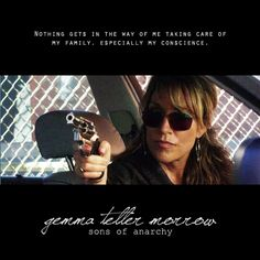 I SO wanna be Gemma for Halloween, LOL.