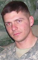 """Army Staff Sgt. Jerry M. Durbin Jr.  Died January 25, 2006 Serving During Operation Iraqi Freedom  26, of Spring, Texas; assigned to the 2nd Battalion, 502nd Infantry Regiment, 2nd Brigade Combat Team, 101st Airborne Division, Fort Campbell, Ky.; killed Jan. 25 when an improvised explosive device exploded near his dismounted patrol during combat operations in Baghdad. (AWARDED THE SILVER STAR """"FOR EXCEPTIONALLY VALOROUS ACHIEVEMENT"""".)"""