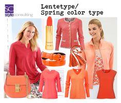 """""""Lentetype/ spring color type."""" by roorda on Polyvore featuring mode, Nasty Gal, Chloé en Oscar de la Renta"""