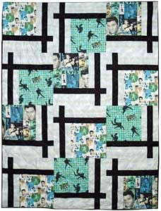 images of BQ maple island quilts | BQ2 with assorted Elvis fabrics