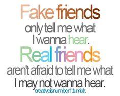 Fake v. Real Friends