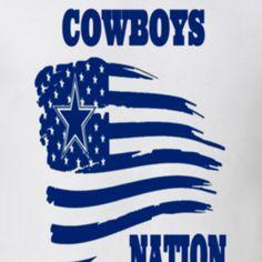 Image result for dallas cowboys american flag