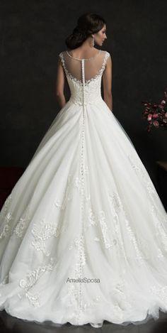 Amelia Sposa 2015 Wedding Dress - Luiza