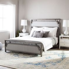 I Love Living Brandford Metal Queen Size Bed