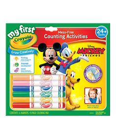 My First Mickey & Friends Mess-Free Counting Activities Set