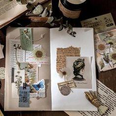 Bullet Journal Lettering Ideas, Bullet Journal Books, Bullet Journal Ideas Pages, Bullet Journal Inspiration, Art Journal Pages, Vintage Notebook, Borders For Paper, Scrapbook Journal, Don't Forget