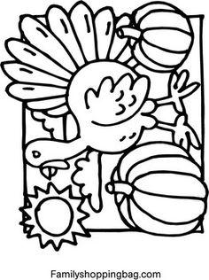coloring printables Thanksgiving