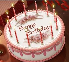 Birthday Greetings | Birthday Wishes | Free Download Cards | Happy Birthday | Romantic E-cards | 3D Birthday Cards ~ Whatz More