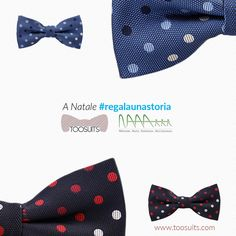 Quant'è difficile trovare un regalo originale per una persona speciale. A #Natale #Toosuits NAAA Onlus insieme per aiutare un bambino. #regalaunastoria  It's hard to find something special for someone you #love. This #Christmas Toosuits&NaaaOnlus together to help a #child in #need. #shapeastory  #Bowtie #bowties #onlus #ong #npo #help #papillon #newproduct #charity #polkadots #helpful #colorful #congo #freedom #happy #smart #colour #joyfull #smile #elegance #beautiful #lovely