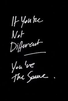 different or the same?