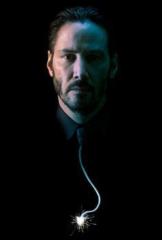 John Wick (2014) Keanu Reeves Printed on Premium Poster Paper 24 X 36 V006