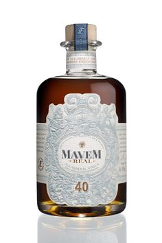It's impossible to look at this bottle of Mavem Aguardente and not feel compelled to reach out and touch it. This Portuguese brandy was designed by MEGUSTA strategic brand design, from ideation to packaging, and the results are exceptional. Ornate details and a refreshing blue make it a totall