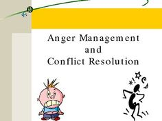 Anger Management and Conflict Resolution for Middle School
