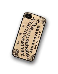 Spirit Board iPhone case fits iPhone 4 and iPhone 4S - Black Trim