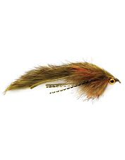junk yard dog streamer fly | This rabbit streamer will draw big fish from the deep.