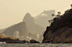 Ilhas Cagarras - Vista do Morro 2 Irmãos e Pedra da Gavea - Rio de Janeiro
