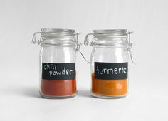 Chalk Label Mason Jars $14 . I think that is an easy DIY project.
