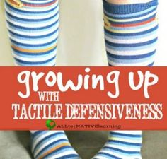 Sensory Corner: Recognizing Tactile Defensiveness in Children - pinned by @PediaStaff – Please Visit  ht.ly/63sNt for all our pediatric therapy pins