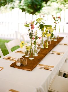 #table-settings  Photography: Austin Gros Wedding Photography - austingros.com  Read More: http://www.stylemepretty.com/2011/06/27/backyard-chattanooga-wedding-by-austin-gros-wedding-photography/