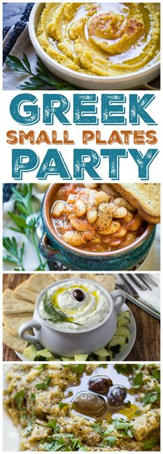 How to Host a Greek Meze Party: Traditional Greek Mezes, or small plates, are great for easy entertaining. Serve with...