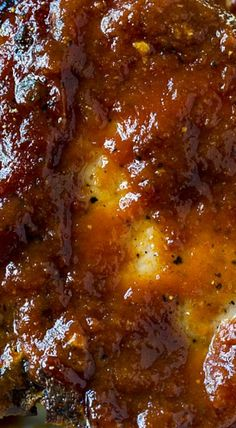 Easy Oven Barbecued Pork Chops are cooked in a tangy BBQ sauce that is lick your finger good! You get that delicious bbq flavor without ever turning on your grill. Barbeque Pork Chops, Oven Pork Chops, Baked Pork Chops, Pork Loin, Pork Rib Recipes, Barbecue Recipes, Meat Recipes, Shrimp Recipes, Yummy Recipes